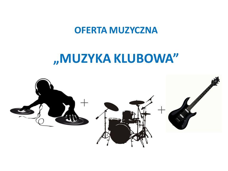 Muzyka klubowa Oferujemy Państwu nową formę rozrywki, głównie dla osób lubiących muzykę klubową.