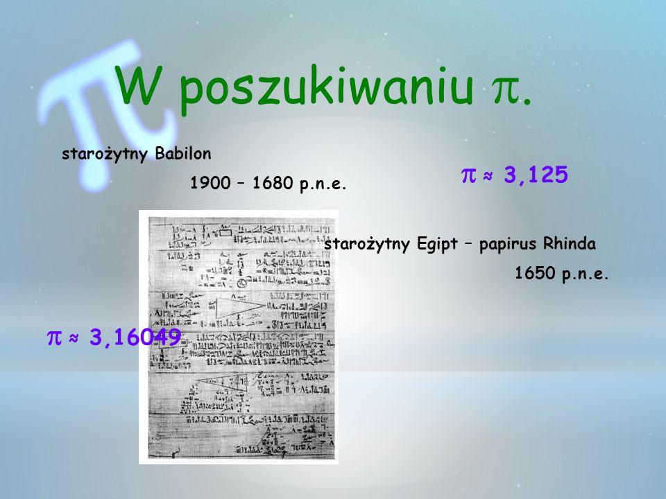 W poszukiwaniu.Papirus Rhinda 1865 1858 1650 p.n.e.
