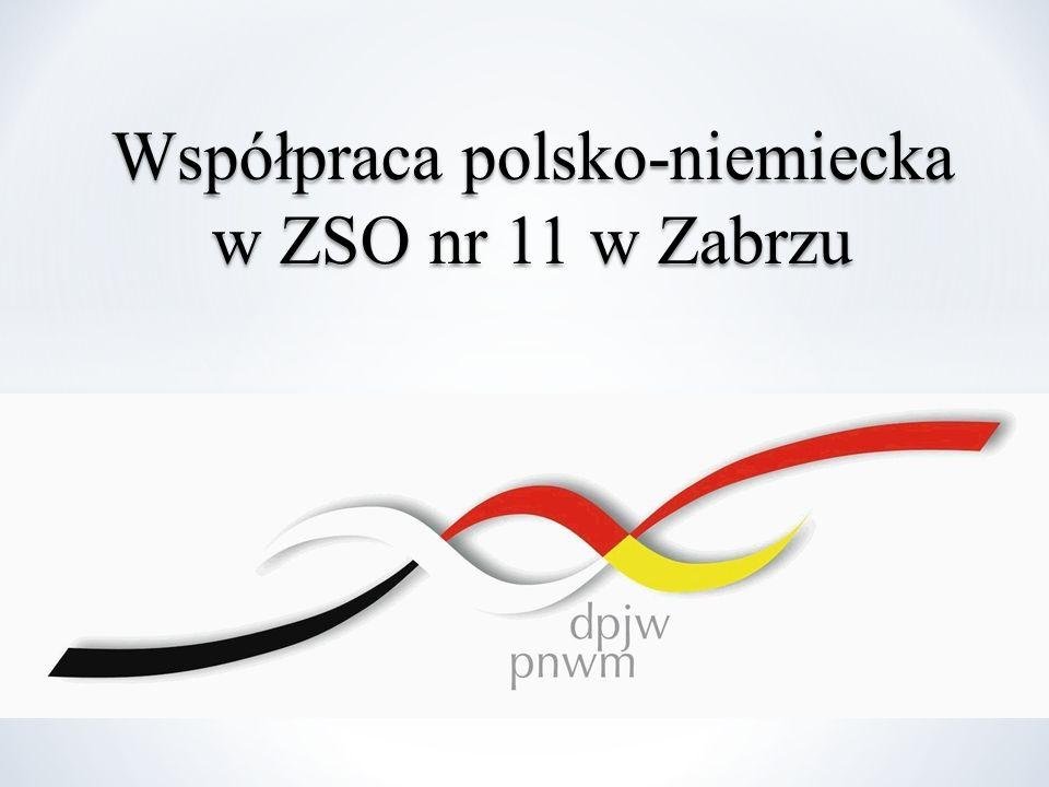 Współpraca polsko-niemiecka w ZSO nr 11 w Zabrzu