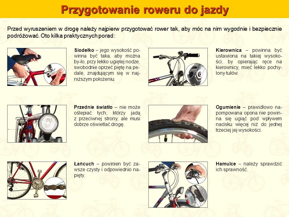 Przed wyruszeniem w drogę należy najpierw przygotować rower tak, aby móc na nim wygodnie i bezpiecznie podróżować. Oto kilka praktycznych porad: Siode