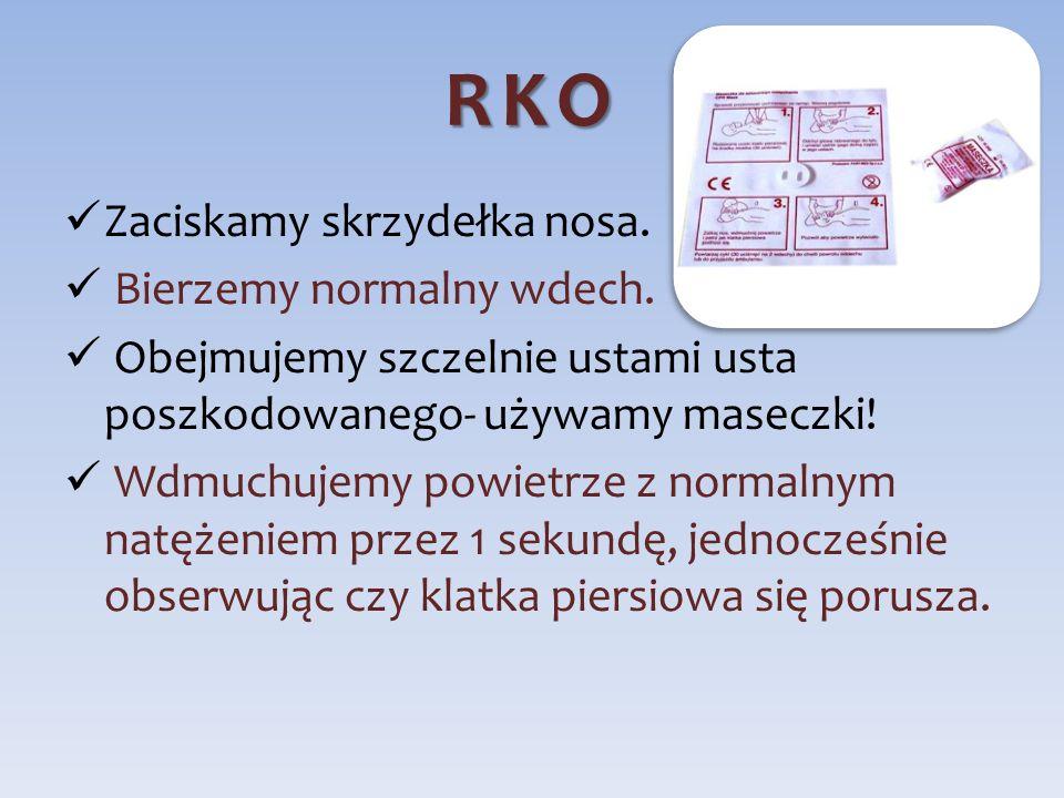 Kiedy wykonywanie RKO może zostać przerwane?