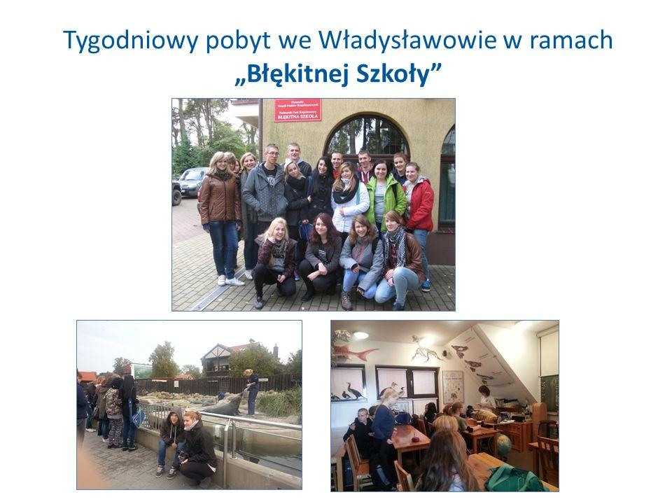 Tygodniowy pobyt we Władysławowie w ramach Błękitnej Szkoły
