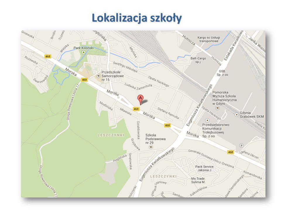 Lokalizacja szkoły