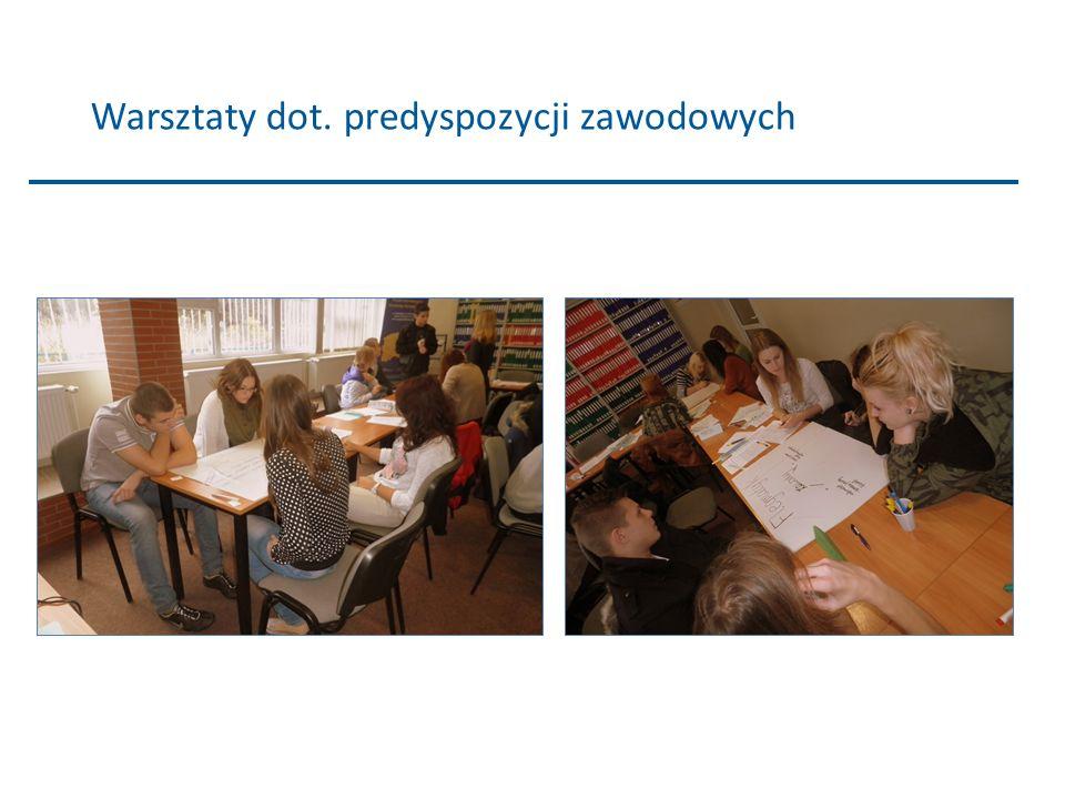 Warsztaty dot. predyspozycji zawodowych