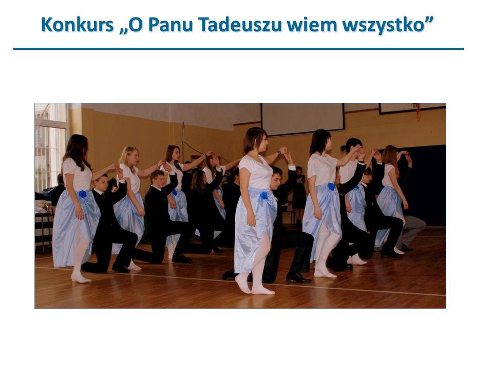 Konkurs O Panu Tadeuszu wiem wszystko