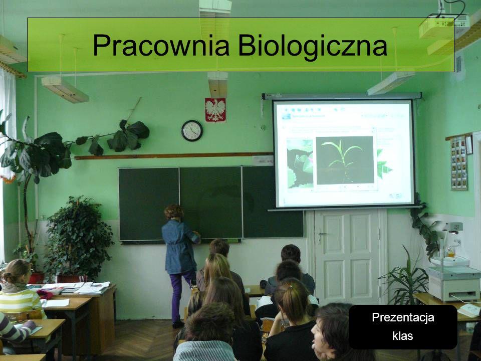 Pracownia Biologiczna Prezentacja klas