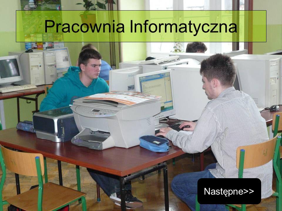 Pracownia Informatyczna Następne>>