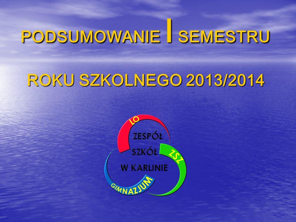 Wrzesień 2013 09.09 - Spotkanie społeczności szkolnej z Burmistrzem miasta Karlina w związku z wyborami do Młodzieżowej Rady Miejskiej – Z.