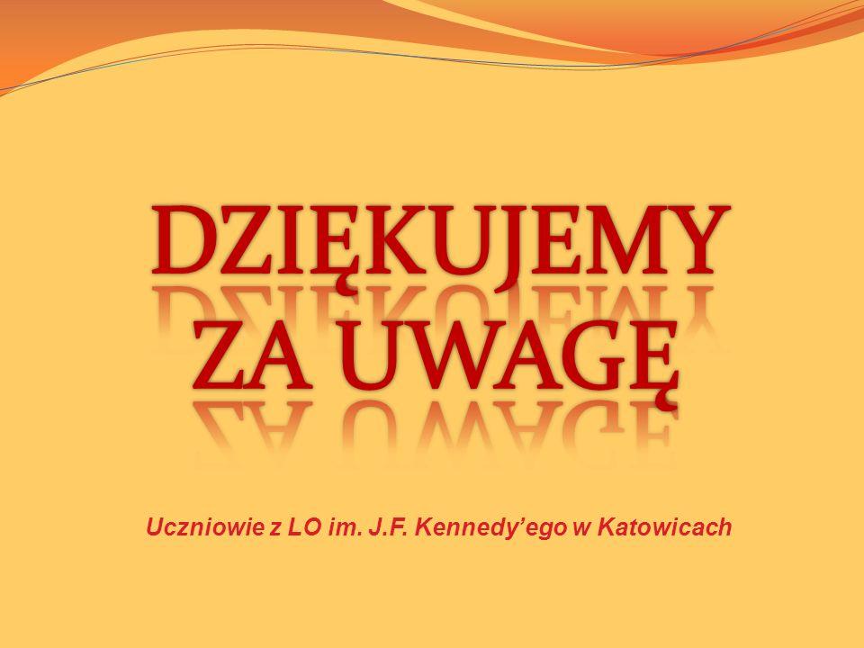 Uczniowie z LO im. J.F. Kennedyego w Katowicach
