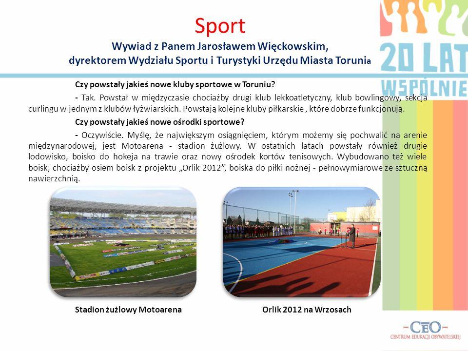 Czy powstały jakieś nowe kluby sportowe w Toruniu.