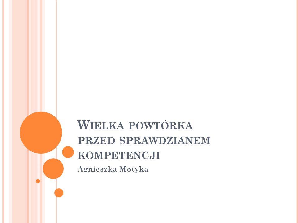 Ź RÓDŁA INFORMACJI W którym tomie encyklopedii znajdziesz hasło Wanda Markowska: I: A-K II: L-O III: P-Z