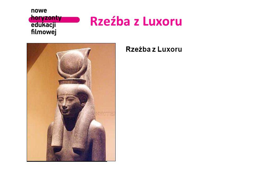 Rzeźba z Luxoru