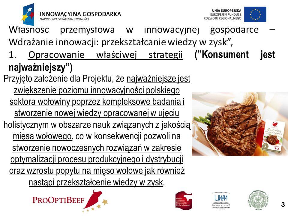 Własność przemysłowa w innowacyjnej gospodarce – Wdrażanie innowacji: przekształcanie wiedzy w zysk, 1.