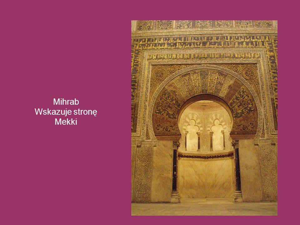 Mihrab Wskazuje stronę Mekki