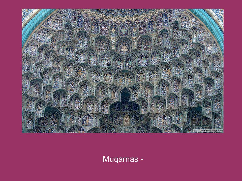 Muqarnas -