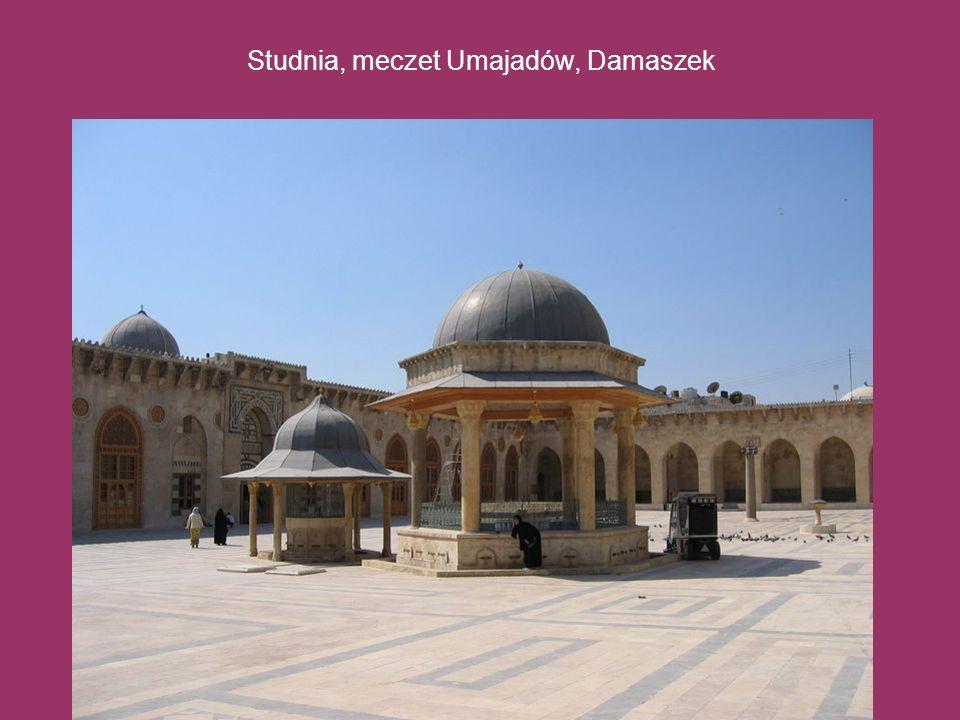 Studnia, meczet Umajadów, Damaszek