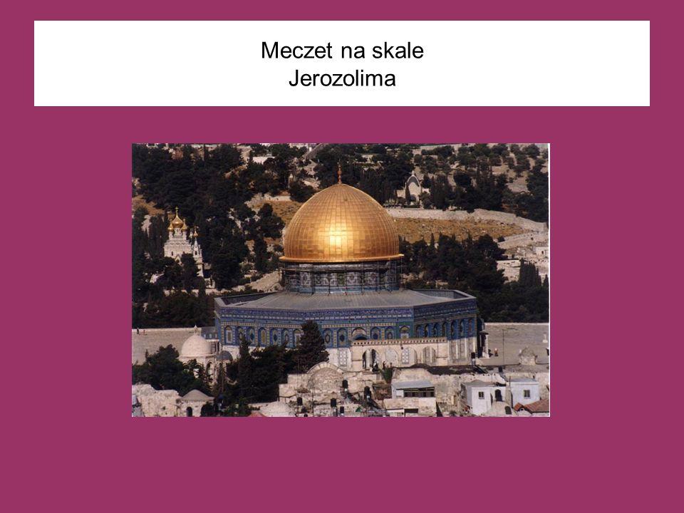 Meczet na skale Jerozolima