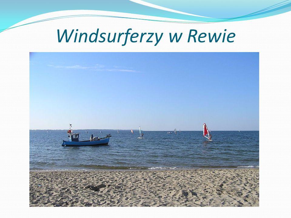 Windsurferzy w Rewie