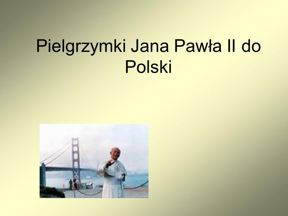 Szósta pielgrzymka Szósty raz papież Jan Paweł II przebywał w Polsce w dniach od 31 maja do 10 czerwca 1997 roku z okazji odbywającego się we Wrocławiu 46.