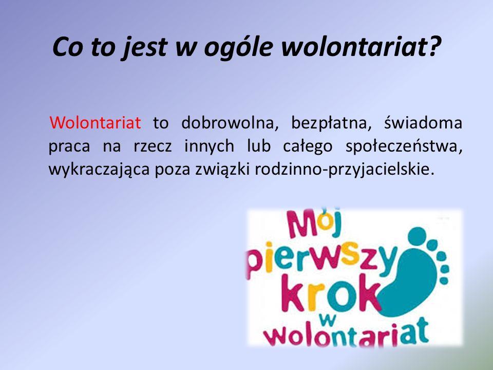 WOŚP Najbliższa akcja WOŚP odbędzie się 12 stycznia 2014 roku, podczas której 20 wolontariuszy naszego gimnazjum pojedzie do Piaseczna, aby wspomóc zbiórkę pieniędzy.