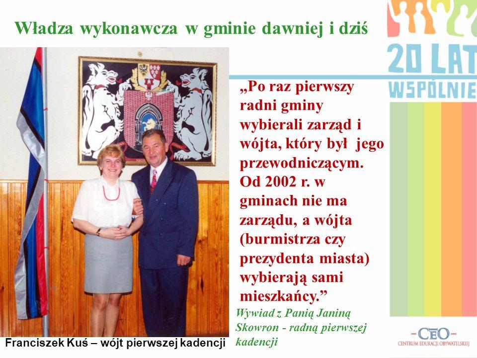 Radni Gminy Skoroszyce pierwszej kadencji Naszym działaniom towarzyszył niezwykły entuzjazm. Mogliśmy sami decydować na co przeznaczyć pieniądze z bud