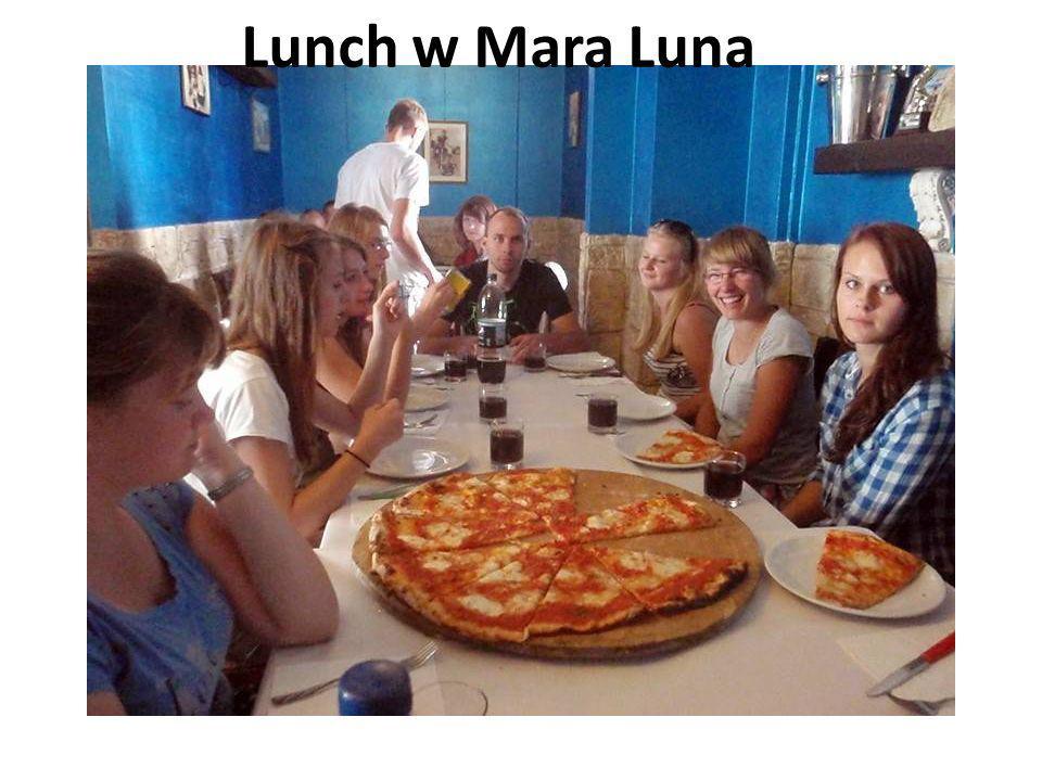 Lunch w Mara Luna