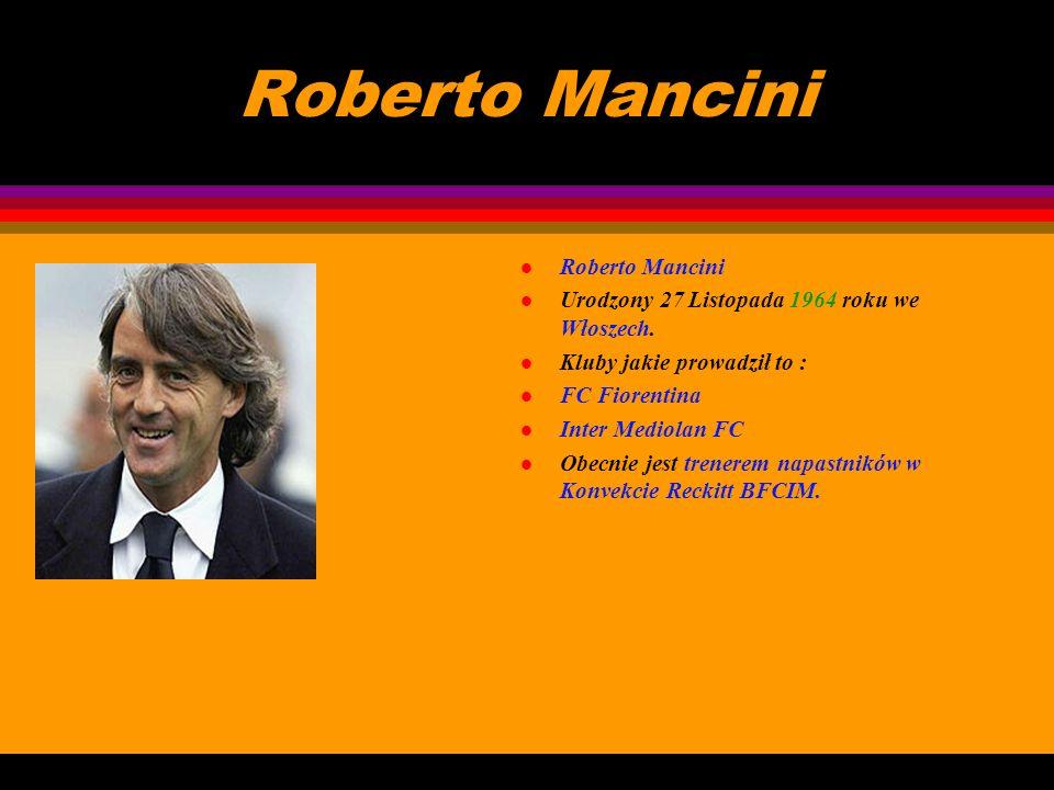 Carlo Ancelotti l Carlo Ancelotti l Urodzony 10 Czerwca 1959 roku w Reggiolo we Włoszech. l Ostatnio był trenerem Włoch i AC Milan. l Obecnie jest tre