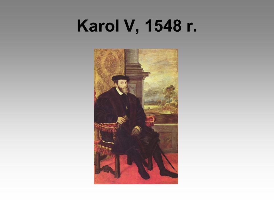 Karol V, 1548 r.