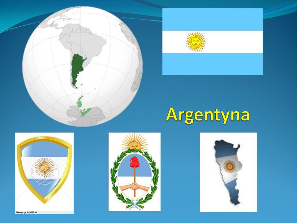 Argentyna Argentyna – państwo w Ameryce Południowej, nad południowym Atlantykiem.