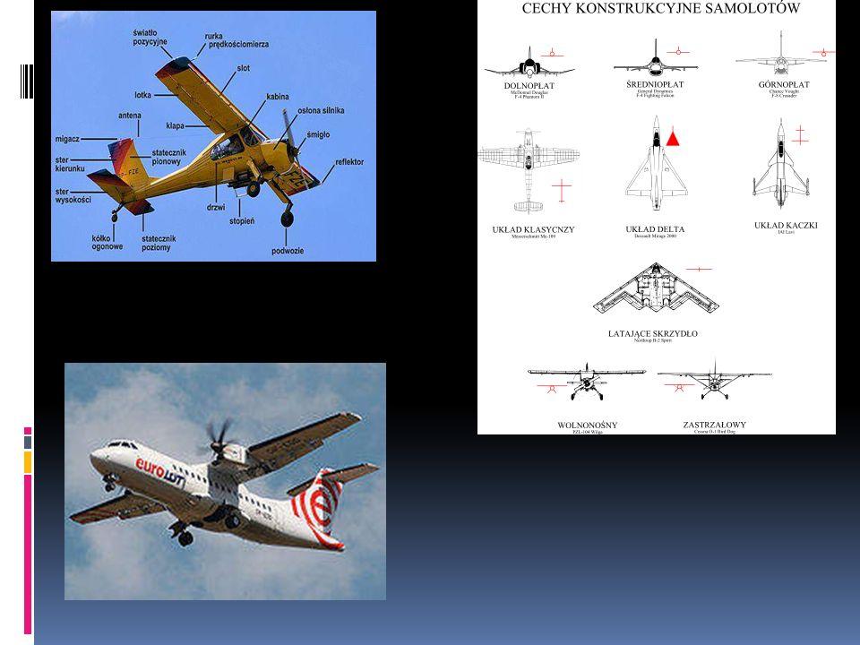 Samolot Samolot – statek powietrzny cięższy od powietrza (aerodyna), utrzymujący się w powietrzu dzięki wytwarzanej sile nośnej za pomocą nieruchomych, w danych warunkach względem statku, skrzydeł.
