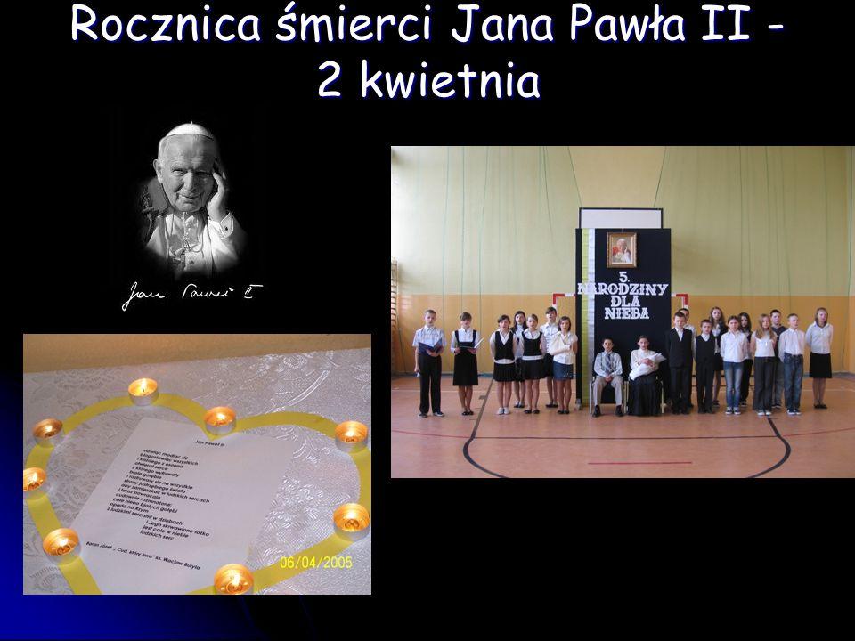 Rocznica śmierci Jana Pawła II - 2 kwietnia