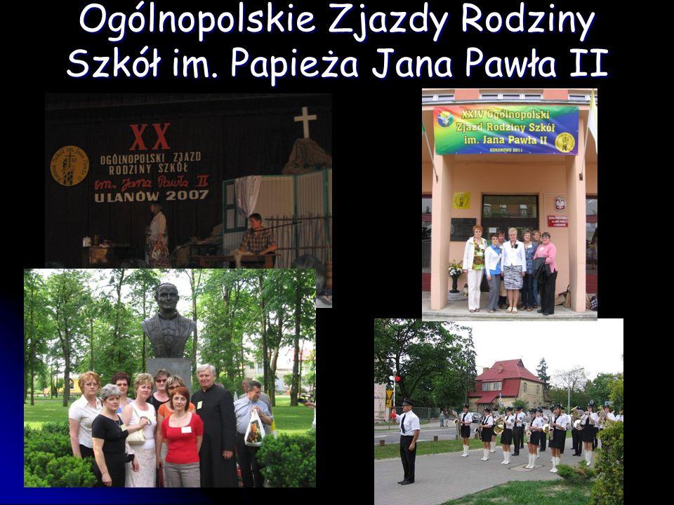 Ogólnopolskie Zjazdy Rodziny Szkół im. Papieża Jana Pawła II