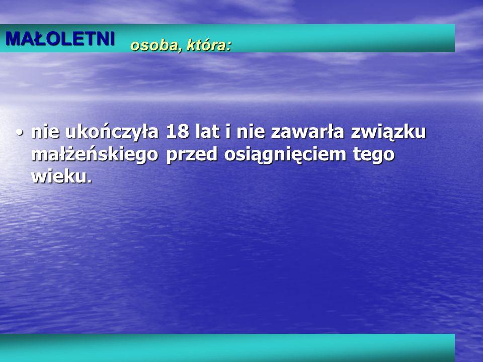 Zespół ds. Nieletnich i Patologii KMP w Tarnowie Dziękuję za uwagę
