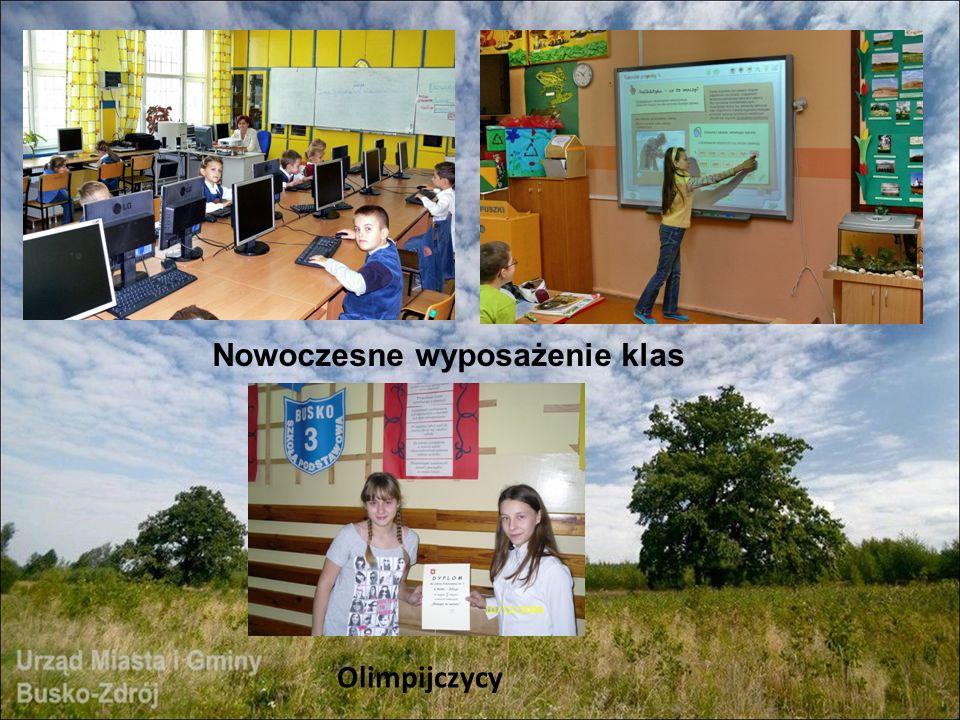 Olimpijczycy Nowoczesne wyposażenie klas