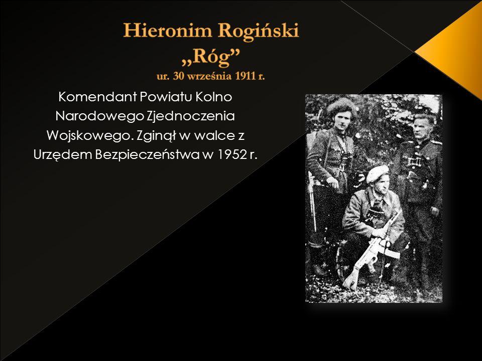 Komendant Powiatu Kolno Narodowego Zjednoczenia Wojskowego. Zginął w walce z Urzędem Bezpieczeństwa w 1952 r.