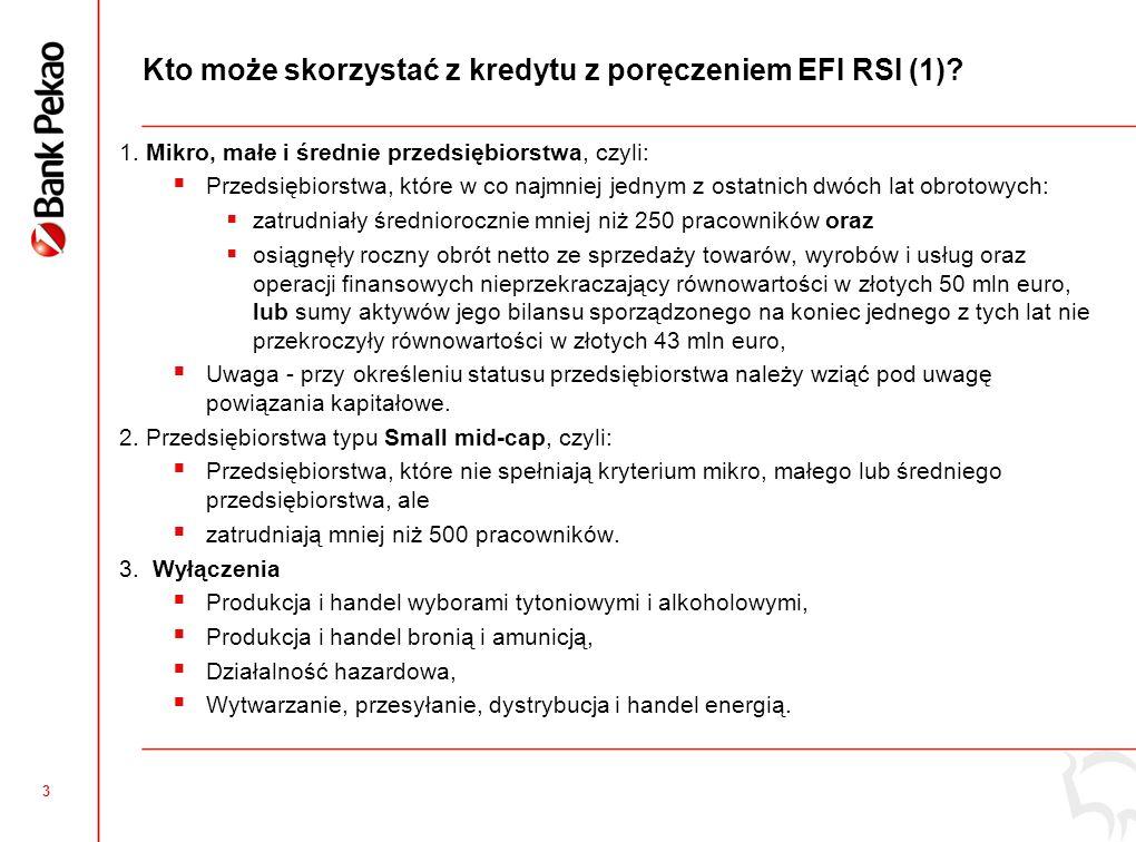 3 Kto może skorzystać z kredytu z poręczeniem EFI RSI (1).