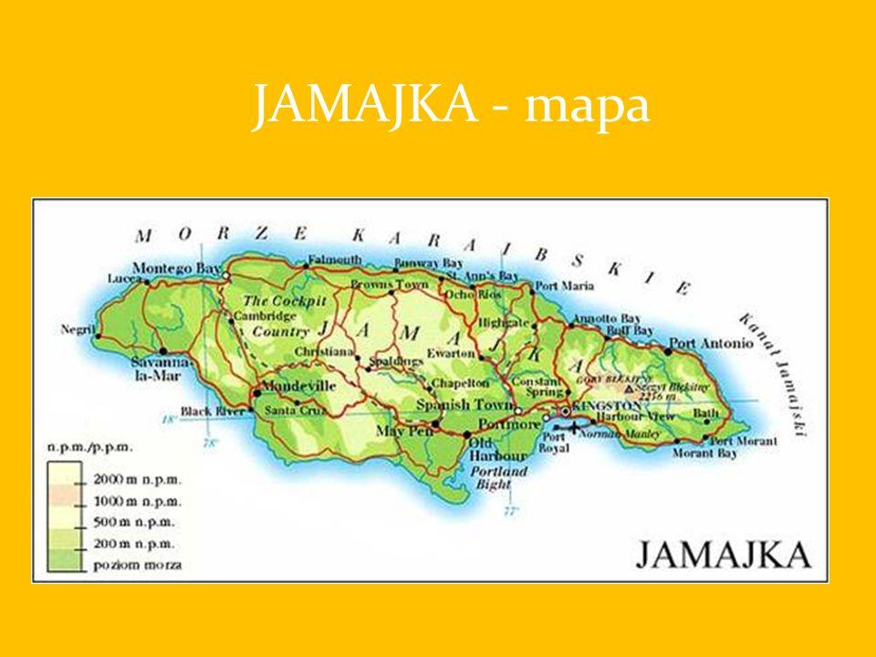 JAMAJKA - mapa