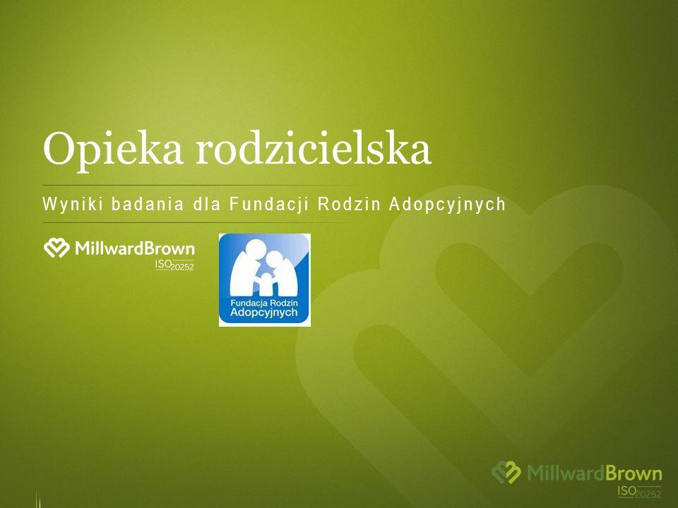 Opieka rodzicielska Wyniki badania dla Fundacji Rodzin Adopcyjnych