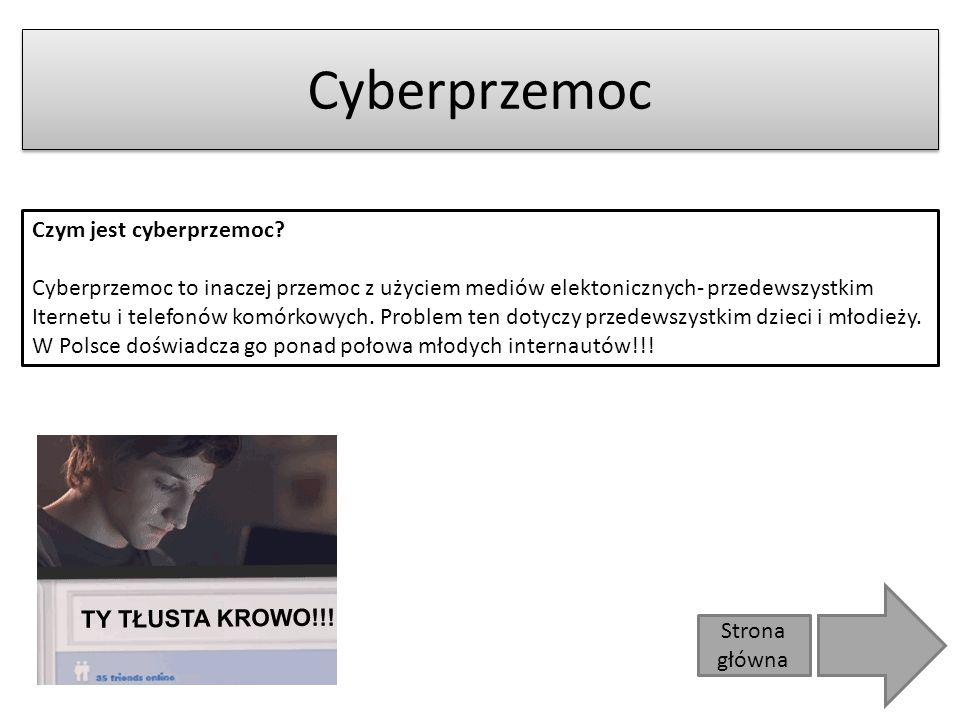 Strona główna Cyberprzemoc Czym jest cyberprzemoc.