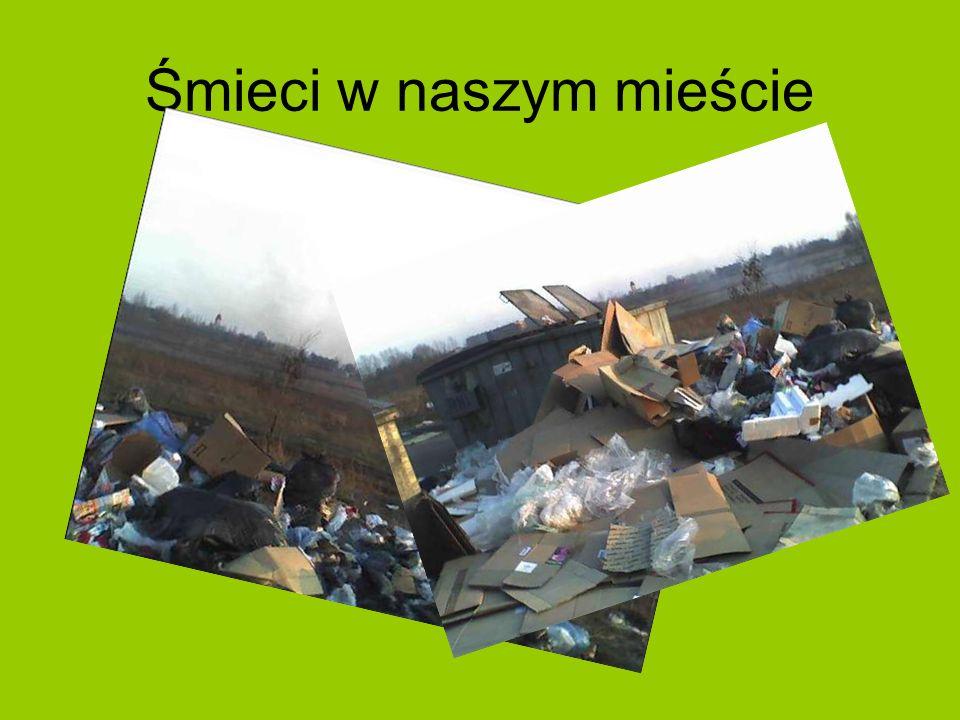 Śmieci w naszym mieście