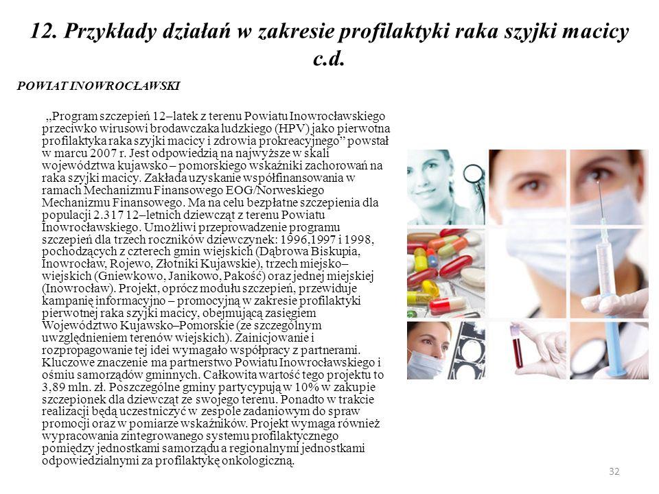 13.Czy rak szyjki macicy jest zawsze wywoływany przez zakażenie wirusem HPV .