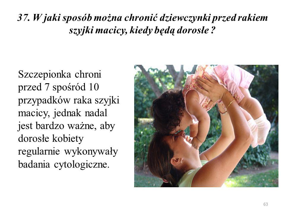 … zapadalność i umieralność na raka szyjki macicy … 64