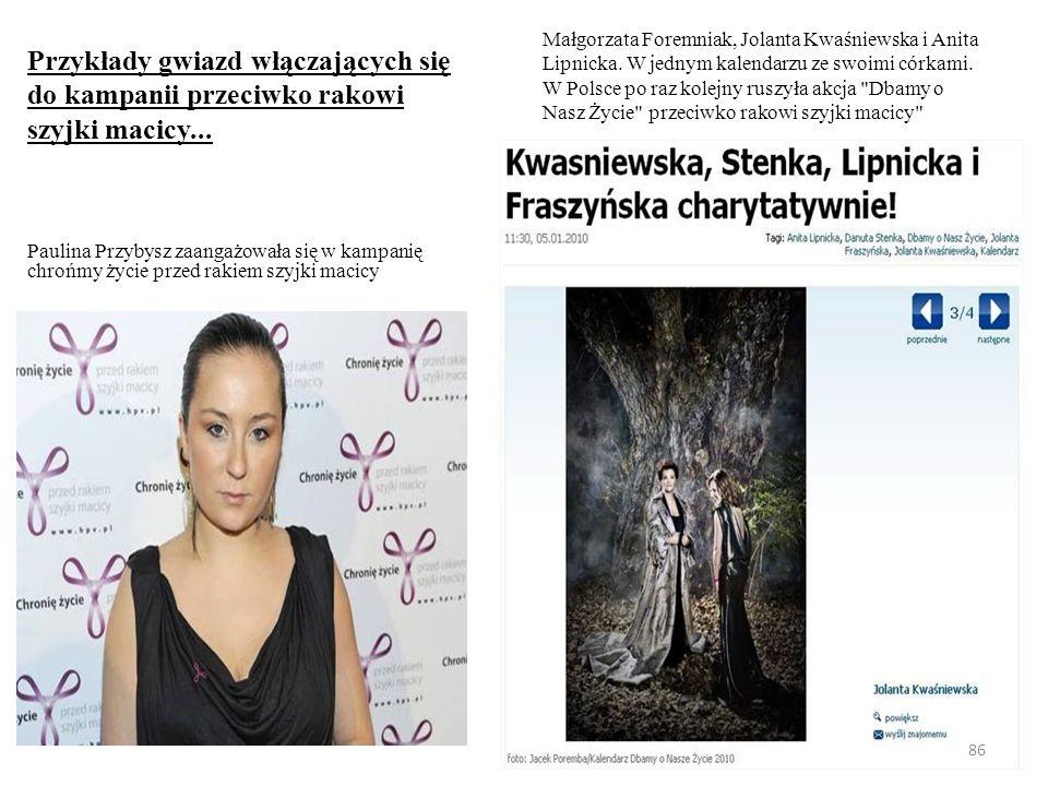 Bibliografia: 1)http://www.test-hpv.pl/http://www.test-hpv.pl/ 2)http://prsm.home.pl/prsm/index.php?option=com_content&task=view&id=7http://prsm.home.pl/prsm/index.php?option=com_content&task=view&id=7 3)http://www.rak-szyjki-macicy.pl/?gclid=CKPQ9siJ7KQCFYkI3wodgUJKUQhttp://www.rak-szyjki-macicy.pl/?gclid=CKPQ9siJ7KQCFYkI3wodgUJKUQ 4)http://www.zdrowiekobiety.org/http://www.zdrowiekobiety.org/ 5)http://prywatnezdrowie.pl/artykuly/poradnik-pacjenta/tydzien-walki-z-rakiem-szyjki-macicy/http://prywatnezdrowie.pl/artykuly/poradnik-pacjenta/tydzien-walki-z-rakiem-szyjki-macicy/ 6)http://www.hpv.pl/http://www.hpv.pl/ 7)http://www.profilaktykarakaszyjkimacicy.pl/http://www.profilaktykarakaszyjkimacicy.pl/ 8)http://www.kwiatkobiecosci.pl/http://www.kwiatkobiecosci.pl/ 9)http://www.hpv.pl/articles/6051http://www.hpv.pl/articles/6051 10)http://www.przychodnia.pl/rbt/index28.php3?s=3&d=6&t=28&p1=6http://www.przychodnia.pl/rbt/index28.php3?s=3&d=6&t=28&p1=6 11)Dlaczego szczepionka przeciw rakowi, S.