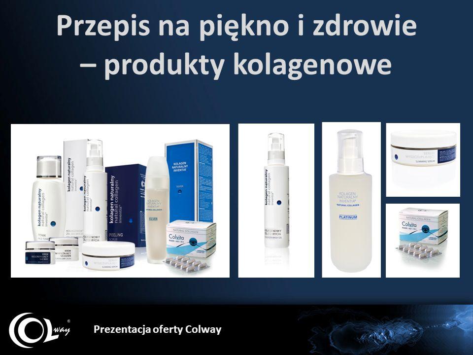 Prezentacja oferty Colway Przepis na piękno i zdrowie – produkty kolagenowe
