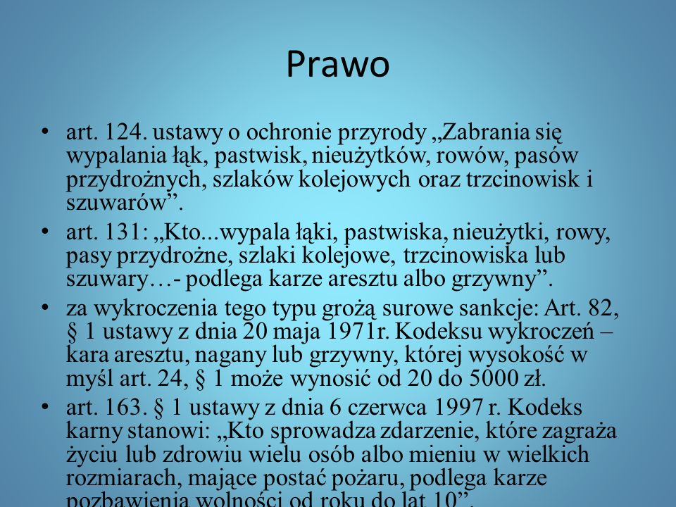 Prawo art.124.