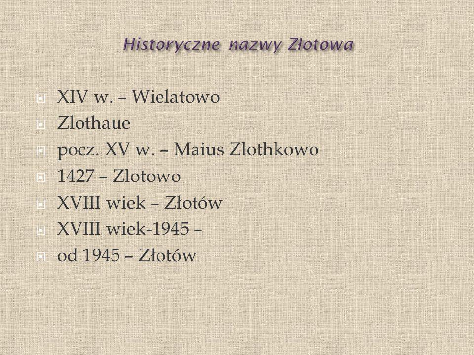 XII w.– zakon bożogrobców do 1360- Przecław h.