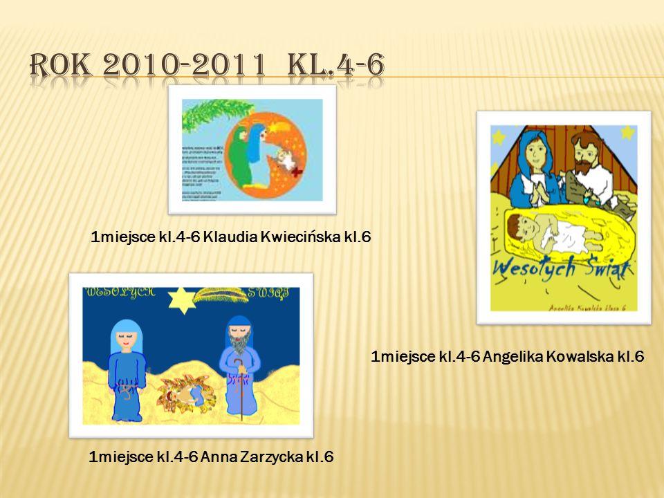 1miejsce kl.0-3 Ireneusz Kowalski kl.0 1miejsce kl.0-3 Jakub Kalinowski kl.3