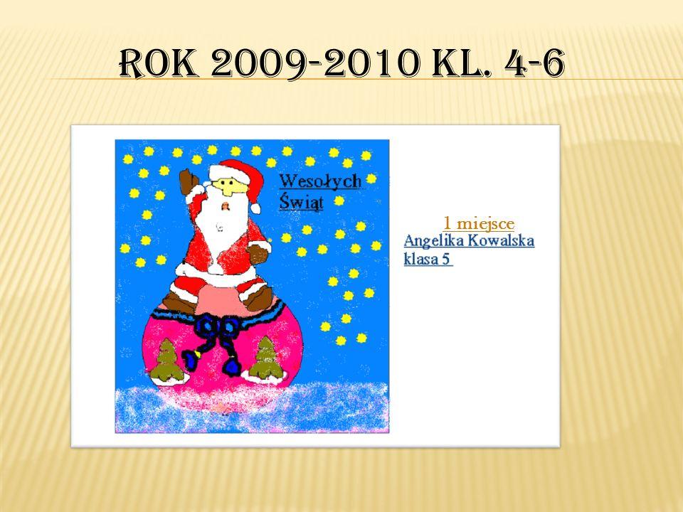 1 miejsce Ania Michalak kl.2 1 miejsce Artur Stadnik kl.3 1 miejsce Marta Chołody kl.3