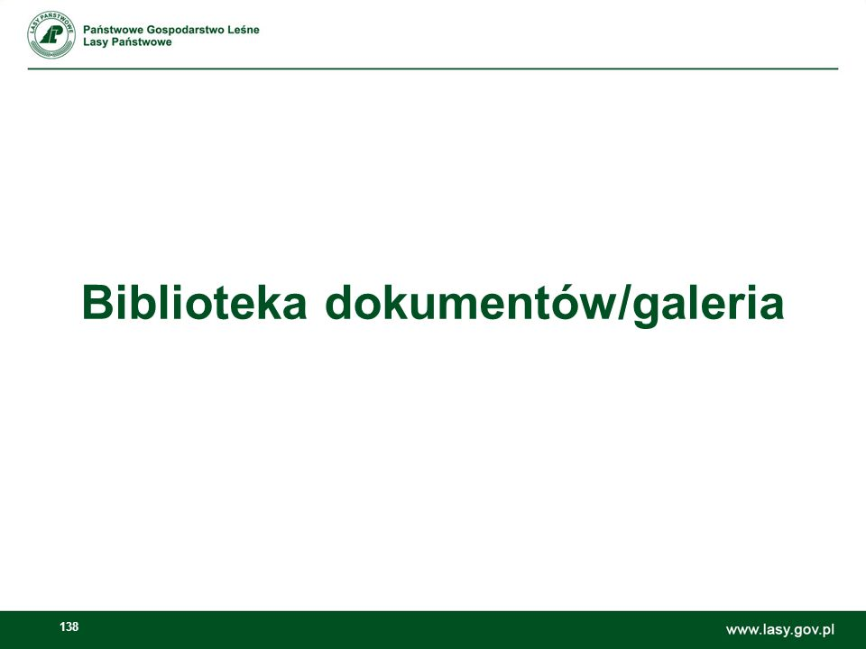 139 Dodawanie galerii zdjęć Dodawanie banerów w sekcji Polecane Otwieramy: Zarządzaj -> Panel sterownia Zawartość stron