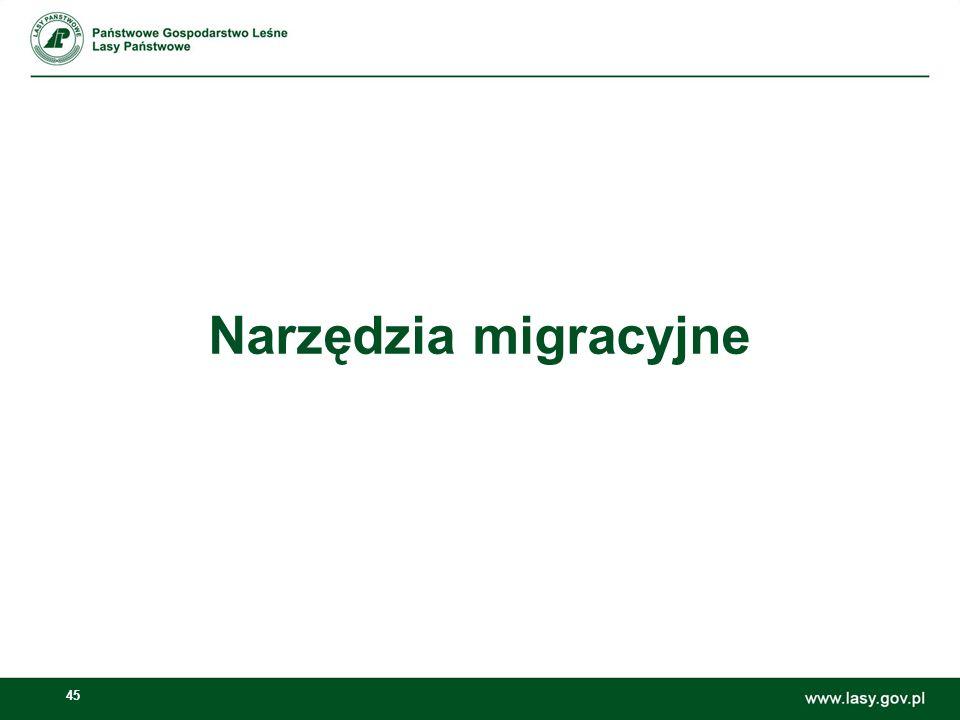 46 Migracja danych ze starego Portalu Korporacyjnego W celu skorzystania z narzędzia importu należy przejść do Panelu Sterowania